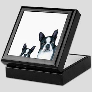 Dog 128 Boston Terrier Keepsake Box