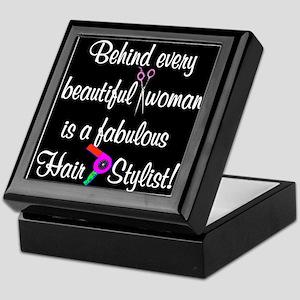 INSPIRING HAIR STYLIST Keepsake Box