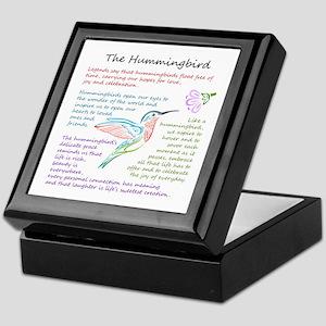 The Hummingbird Keepsake Box