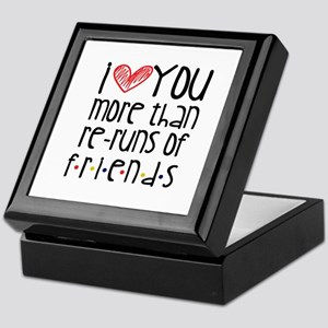 Love You More than Friends Keepsake Box