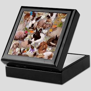Happy Bunnies Keepsake Box