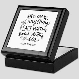 Salt Water Cure Keepsake Box