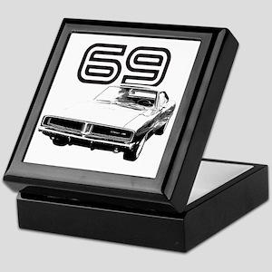 1969 Charger 03 Keepsake Box