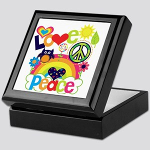Love and Peace Keepsake Box