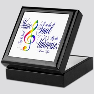 Music in the Soul Keepsake Box