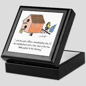 Flipping The Birdhouse Keepsake Box