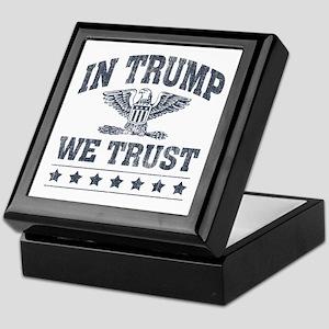 In Trump We Trust Keepsake Box