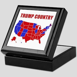 Trump Country Keepsake Box