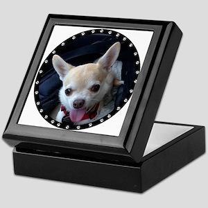 Personalized Paw Print Keepsake Box