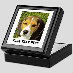 Dog Photo Personalized Keepsake Box