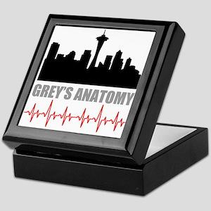 Grey's Anatomy Seatle Keepsake Box
