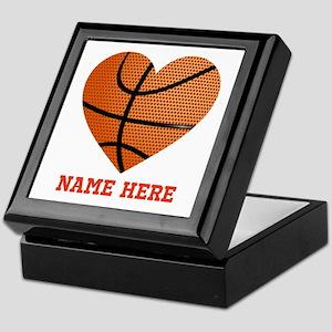 Basketball Love Personalized Keepsake Box