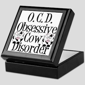 Obsessive Cow Disorder Keepsake Box