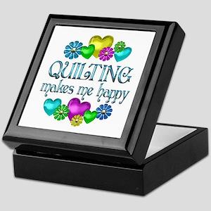 Quilting Happiness Keepsake Box