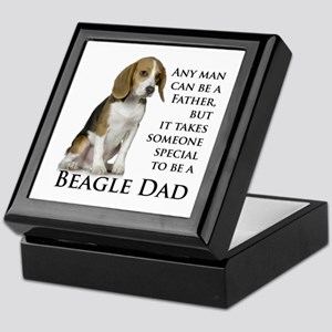 Beagle Dad Keepsake Box