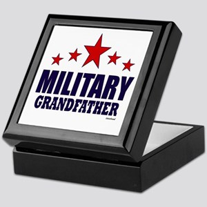 Military Grandfather Keepsake Box