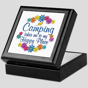 Camping Happy Place Keepsake Box