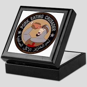 Pork Eating Crusader Keepsake Box