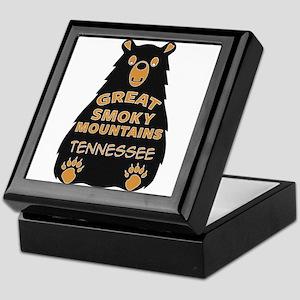 Great Smoky Mountains National Park T Keepsake Box