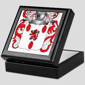 McGuigan Coat of Arms - Family Crest Keepsake Box