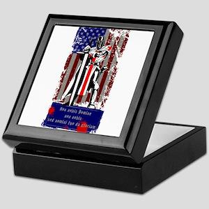 American Knights Templar Keepsake Box