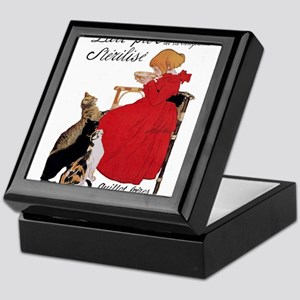Steinlen Cats Keepsake Box