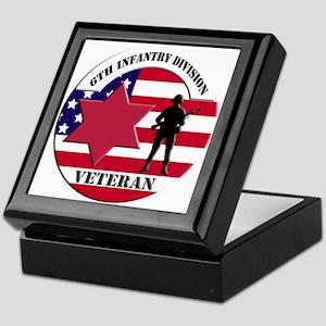 6th Infantry Division Keepsake Box