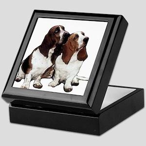 Basset Hound Keepsake Box