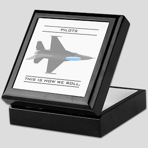 Pilots: How We Roll Keepsake Box