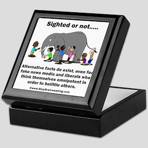 Alternative Facts do exist Keepsake Box