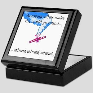 The world goes round... Keepsake Box