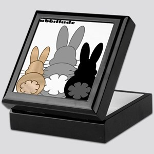 Rabbittude Posse Keepsake Box