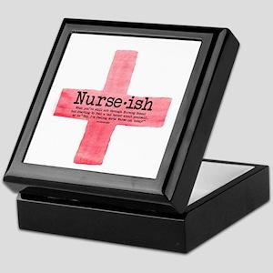 Nurse ish Student Nurse Keepsake Box