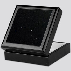 The Plough in Ursa Major, optical ima Keepsake Box