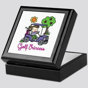Golf Princess Keepsake Box