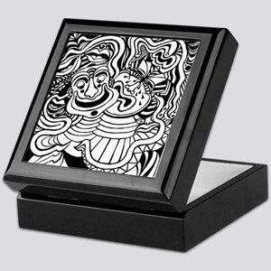 Theater Masks Keepsake Box