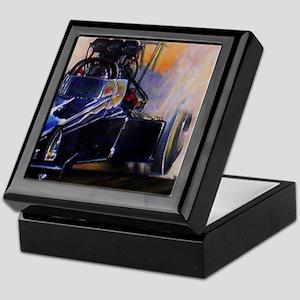 Auto Racing Keepsake Box