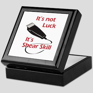 SHEAR SKILL Keepsake Box