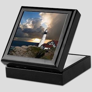 Lighthouse Lookout Keepsake Box