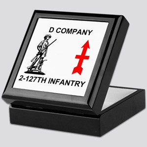 2-127th Infantry <BR>D Co. Insignia Box