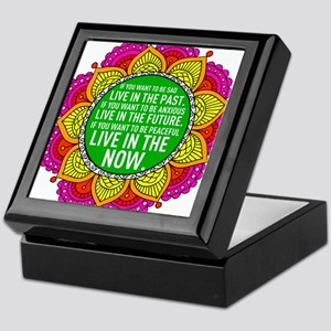 If you want to be peaceful... Keepsake Box
