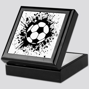 soccer splats Keepsake Box