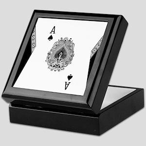 Ace of Spades Keepsake Box