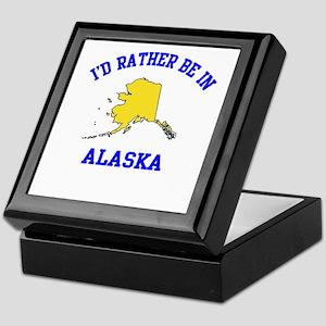 I'd Rather Be in Alaska Keepsake Box