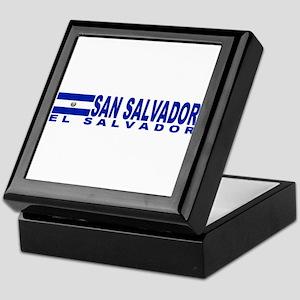 San Salvador, El Salvador Keepsake Box