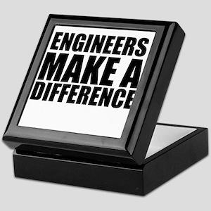 Engineers Make A Difference Keepsake Box