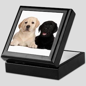 Labrador puppies Keepsake Box