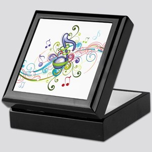 Music in the air Keepsake Box