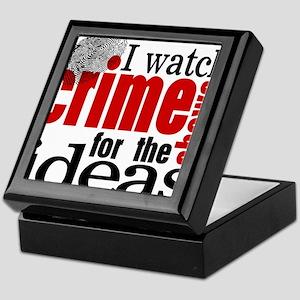 Crime Show Ideas Keepsake Box
