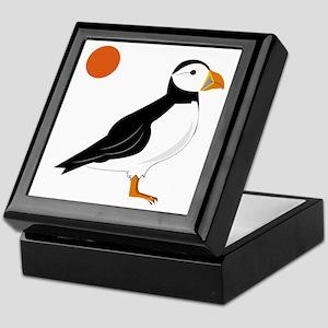 Puffin Bird Keepsake Box